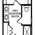 Somerville Optional Master Bath