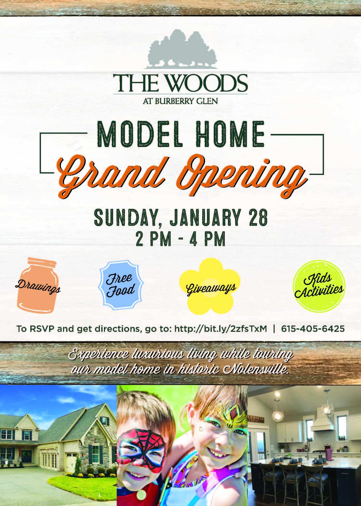 Woods at Burberry Glen Model Home Grand Opening   The Jones Company