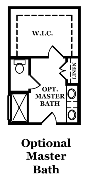 Annandale II Optional Master Bath