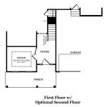 Bierstadt First Floor w/ Optional Second Floor