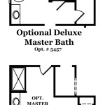 Cameron II Master Bath Options