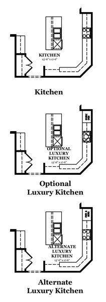 Pierce Optional Luxury Owner's Bath