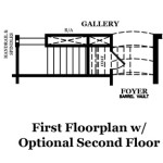 Bradford First Floor w/Optional Second Floor