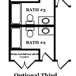 Augusta II Optional Third Bath In Lieu of Hall Bath