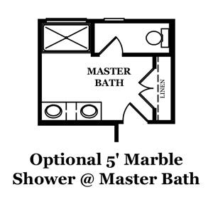 Franklin Luxury Master Bath Options
