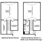 Ashford Bonus Room Options