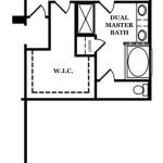 Claybrooke Optional Dual Master Suite