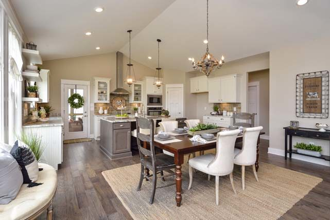 The Manchester III Model Home at Baird Farms