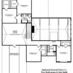 Hargrove Optional Second Floor with Two Bedrooms and One Bath