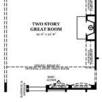 Newcastle II Optional First Floor w/2 Story Great Room