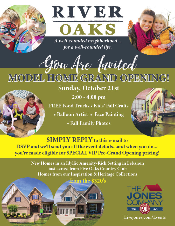 RIVER OAKS GRAND OPENING