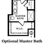 Audubon Optional Master Bath w/Shower