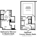 Hickory Master Bath Options