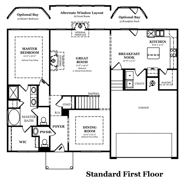 Hickory Optional Bonus Room