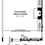 Norcross II Optional First Floor w/2 Story Great Room
