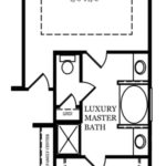 Adams Optional Luxury Master Bath