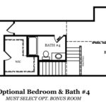 Adams Optional Bedroom and 4th Bath