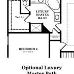 Calhoun Optional Luxury Master Bath