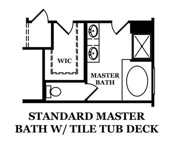 Drayton Standard Master Bath