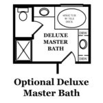 Franklin Optional Deluxe Master Bath