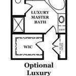 Franklin Optional Luxury Master Bath