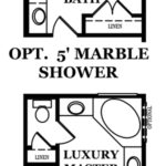 Jefferson Master Bath Options