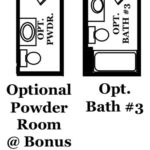 Pierce Optional Bonus Room & Bathroom