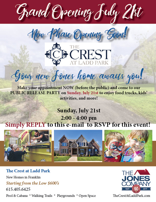 the crest new phase grand opening