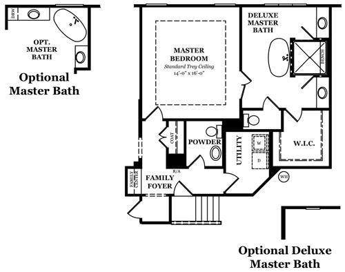 Norcross II Master Bath Options