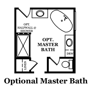 Ashford Master Bath Options