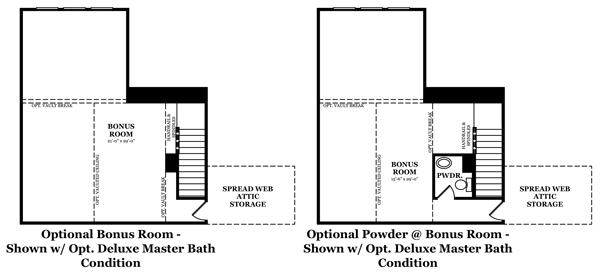 Donovan Optional Master Bath