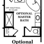 Augusta II Optional Master Bath