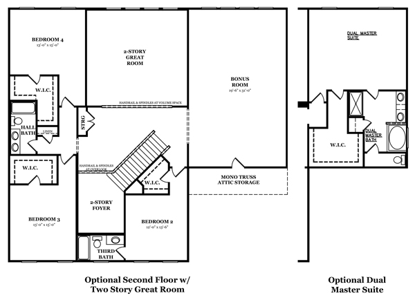 Carlisle Optional Finished Basement 2