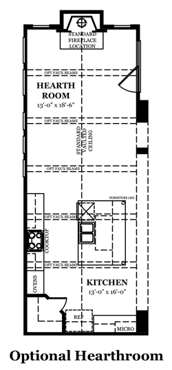 Danbury IV Optional Finished Basement 2