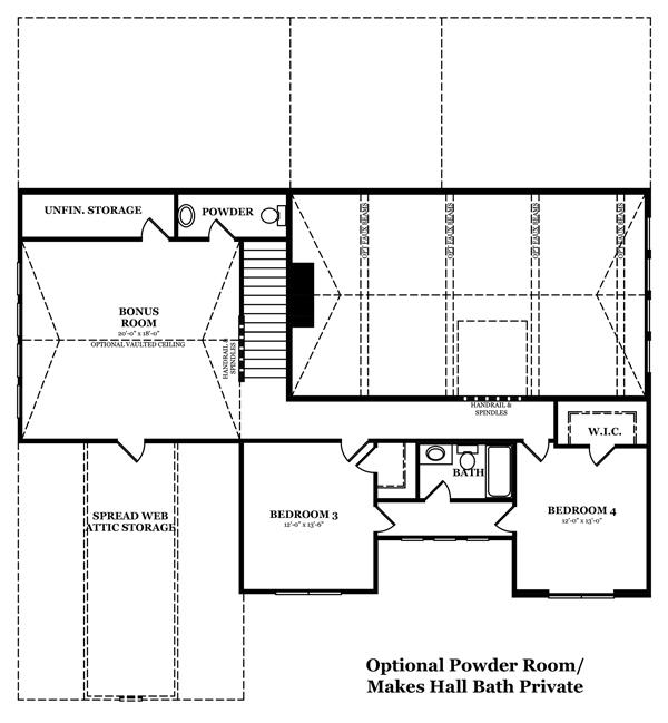 Hargrove Optional Finished Basement 2