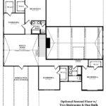 Hargrove Optional Second Floor with 2 Bedroom & 1 Bath