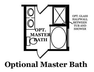Armstrong Optional Master Bath