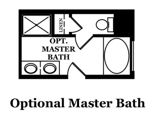 Cabot Optional Master Bath