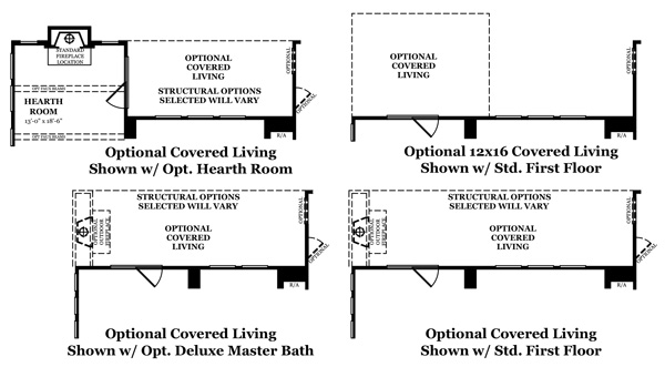 Danbury IV Covered Living Options