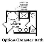 Raleigh Optional Master Bath