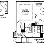 Newcastle II Master Bath Options