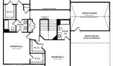 Newcastle II Optional Second Floor 2 Story Great Room