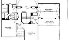 Newcastle II Optional Second Floor with Media Room