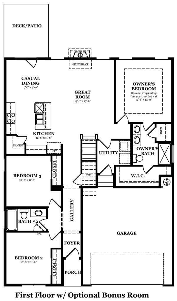 Armstrong Bonus Room Options