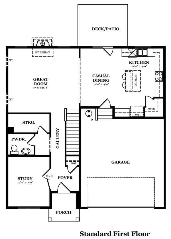Magellan Optional Bedroom & Bath In Lieu of Study
