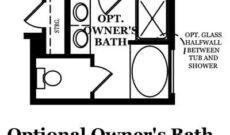 Edison Optional Owner's Bath