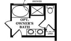Raleigh-Optional Owner's Bath