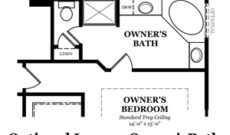 Ainsley III Optional Luxury Owner's Bath