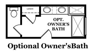 Ainsley III Optional Owner's Bath