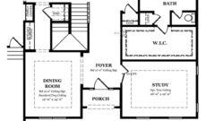 Augusta II First Floor with -Bonus Room